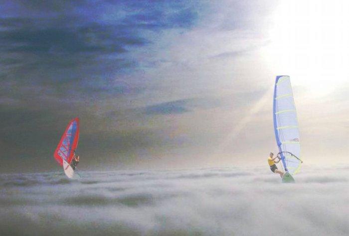 Cloudsurfin