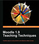 Moodle 1.9 Teaching Techniques from Apress
